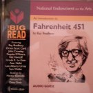 CD THE BIG READ Fahrenheit 451 ray bradbury hector elizondo AUDIO