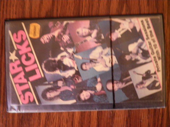 VHS STAR LICKS jimi hendrix rik emmett brian may steve lukather larry carlton guitar instructional