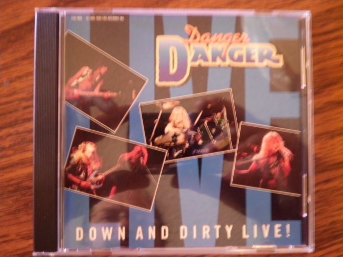 CD DANGER DANGER Down and Dirty Live PROMO