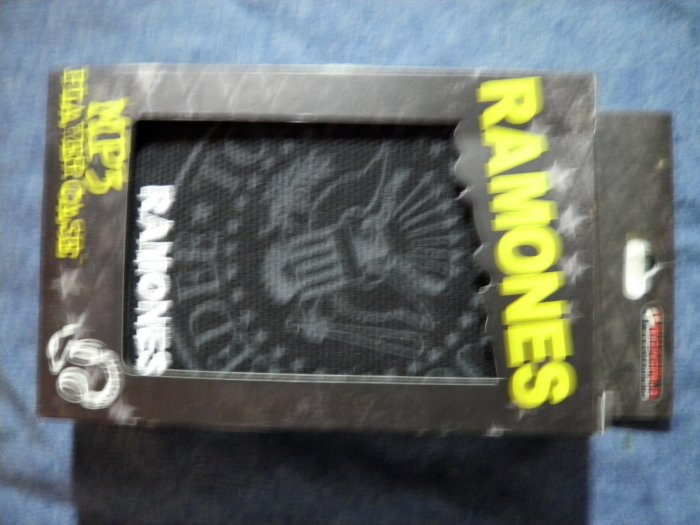 THE RAMONES MP3 player case eagle logo NEW