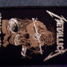 METALLICA sew-on PATCH Harvester Of Sorrow IMPORT