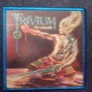 TRIVIUM sew-on PATCH The Crusade vinyl import NEW