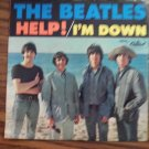 45 THE BEATLES Help! b/w I'm Down vinyl record W/PICTURE SLEEVE