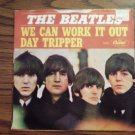45 THE BEATLES We Can Work It Out b/w Day Tripper vinyl record W/PICTURE SLEEVE