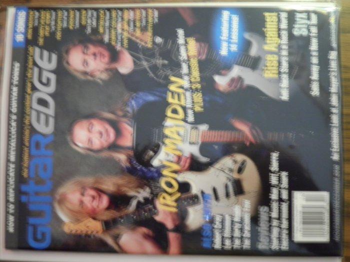 12/10 GUITAR EDGE magazine iron maiden queen lynyrd skynyrd metallica phoenix 10 songs TAB