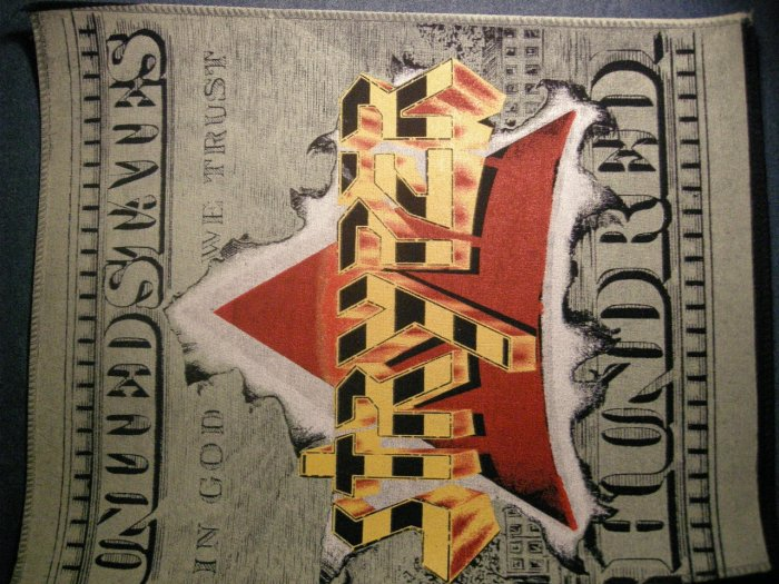 STRYPER BACKPATCH In God We Trust patch VINTAGE