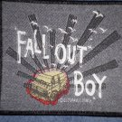FALL OUT BOY sew-on PATCH bus logo import NEW