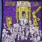 MISFITS sew-on PATCH Earth A.D. danzig import NEW