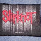 SLIPKNOT sew-on PATCH red/grey logo import NEW