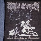 CRADLE OF FILTH sew-on PATCH Adventures In Phallustein cof IMPORT