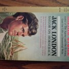 JACK LONDON SAILOR ON HORSEBACK Irving Stone vintage paperback book giant cardinal 1961