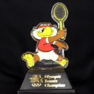 SAM THE EAGLE Olympic Tennis Champion stature figure 1980 VINTAGE