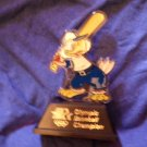 SAM THE EAGLE Olympic Baseball Champion stature figure 1980 VINTAGE