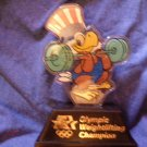SAM THE EAGLE Olympic Weightlifting Champion stature figure weight lifting 1980 VINTAGE