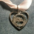 PETER ANDRE NECKLACE pja pendant ribbon choker IMPORT