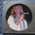 LP KIX Rock Sagas chris tetley interview import PICTURE DISC