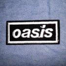 OASIS iron-on PATCH white logo VINTAGE