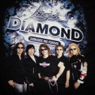 LEGS DIAMOND SHIRT Diamonds Are Forever group pic aor heaven promo M NEW