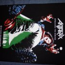 ANTHRAX BACKPATCH Spreading the Disease dude patch VINTAGE