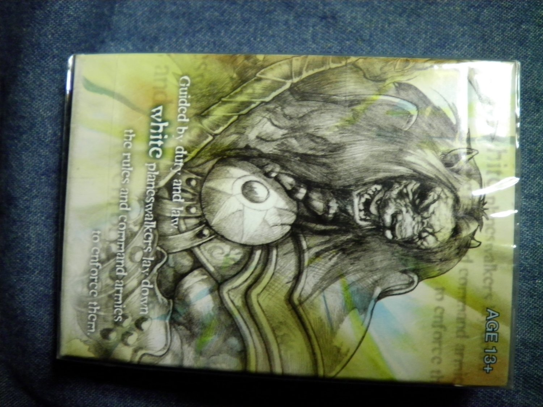 MTG BLACK PLANESWALKER DECK Magic The Gathering card game SEALED PROMO