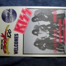 KISS BACKSTAGE PASS 1990 Slaughter Winger keze radio promo bsp VINTAGE