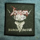 VENOM sew-on PATCH Black Metal goat IMPORT