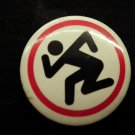 D.R.I. PINBACK BUTTON dirty rotten imbeciles dri punk VINTAGE