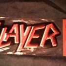 SLAYER iron-on PATCH classic logo VINTAGE