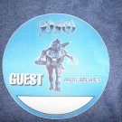 DIO BACKSTAGE PASS Angry Machines ronnie james circle guest bsp