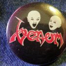 VENOM PINBACK BUTTON vampire heads