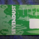 SEVENDUST BACKSTAGE PASS green multi bsp