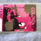 COLDPLAY BACKSTAGE PASS reflective vip bsp laminate