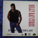 BILLY RAY CYRUS DECAL not STICKER It Won't Be The Last country VINTAGE