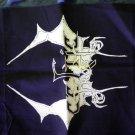 CELTIC FROST BACKPATCH b&w bat logo metal patch BIG