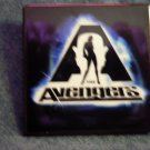 THE AVENGERS PINBACK BUTTON remake movie PROMO SALE