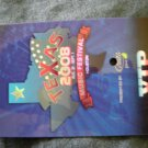 TEXAS MUSIC FESTIVAL BACKSTAGE PASS Houston 2008 plastic vip bsp SALE
