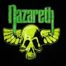 NAZARETH SHIRT 1996 Tour neon skull logo XL NEW