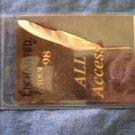 STEVIE NICKS BACKSTAGE PASS Enchanted Tour 1998 fleetwood mac bsp