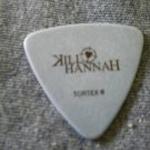 KILL HANNAH GUITAR PICK Greg Corner blue