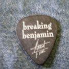 BREAKING BENJAMIN GUITAR PICK Aaron Fink celtic logo black