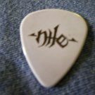NILE GUITAR PICK Ozzfest 2007 grey