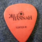 KILL HANNAH GUITAR PICK Dan Wiese orange