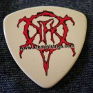 SLAYER GUITAR PICK Kerry King kfk ministries white