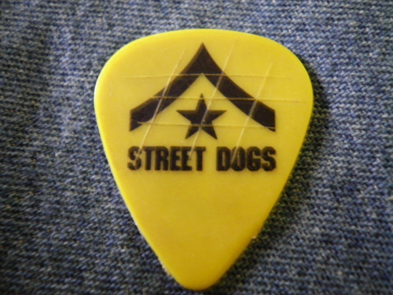 STREET DOGS GUITAR PICK Tobe Bean III dropkick murphys punk