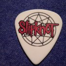 SLIPKNOT GUITAR PICK James Root #4 pentagram white