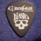 BLASKO GUITAR PICK Ozzfest 2005 skull logo black