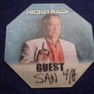 NICKELBACK BACKSTAGE PASS guest bsp
