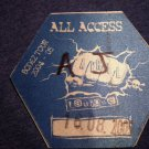 AVRIL LAVIGNE BACKSTAGE PASS Bonez Tour 2004-5 blue all access bsp