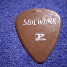 SOILWORK GUITAR PICK Ozzfest 2005 soil work purple SALE