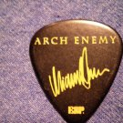 ARCH ENEMY GUITAR PICK Michael Amott radioactive riff revolution black